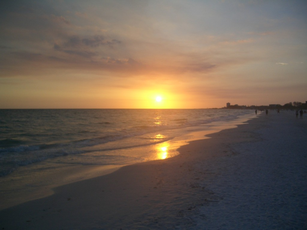 Siesta Key Setting Sun