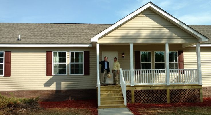 The Greensboro Modular Home Gable Roof Porch